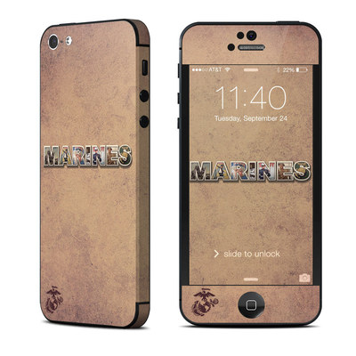 Apple iPhone 5 Skin - Vintage Poster