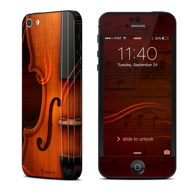 Apple iPhone 5 Skin - Violin