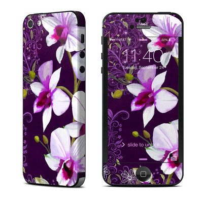 Apple iPhone 5 Skin - Violet Worlds