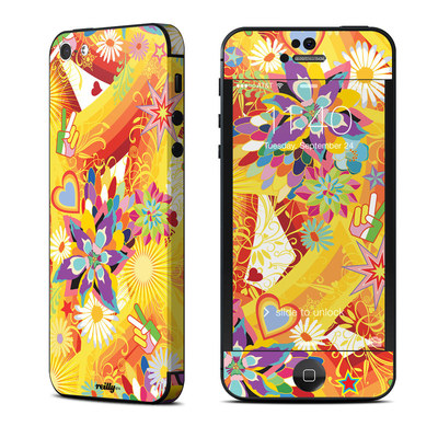 Apple iPhone 5 Skin - Wall Flower