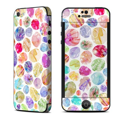 Apple iPhone 5 Skin - Watercolor Dots