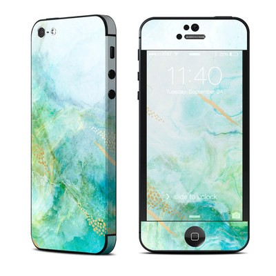 Apple iPhone 5 Skin - Winter Marble