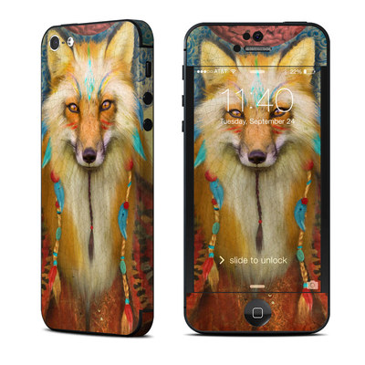 Apple iPhone 5 Skin - Wise Fox