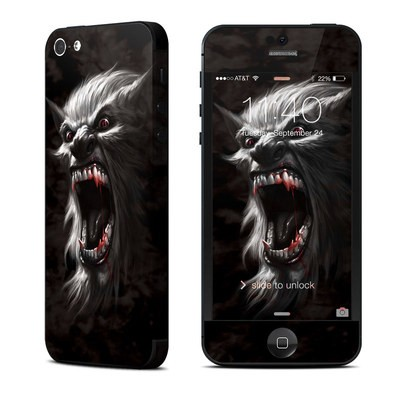 Apple iPhone 5 Skin - Wolfman