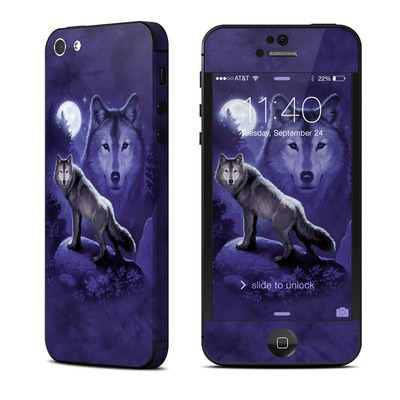 Apple iPhone 5 Skin - Wolf