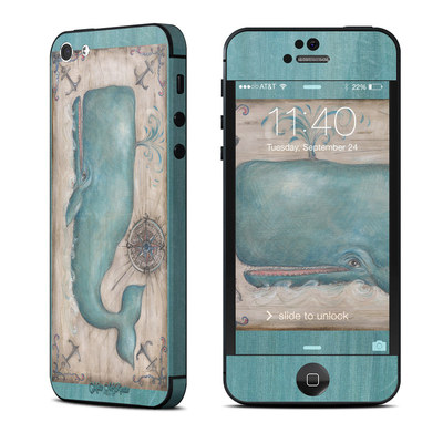Apple iPhone 5 Skin - Whale Watch