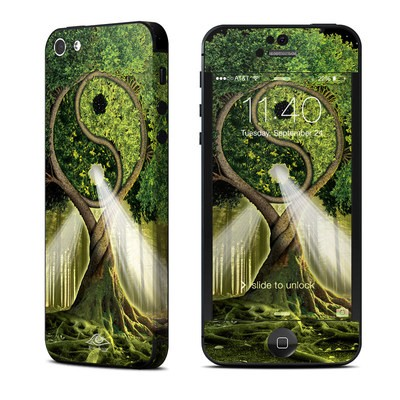 Apple iPhone 5 Skin - Yin Yang Tree