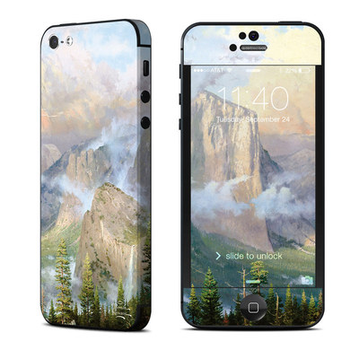 Apple iPhone 5 Skin - Yosemite Valley