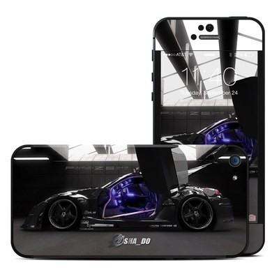 Apple iPhone 5 Skin - Z33 Dark