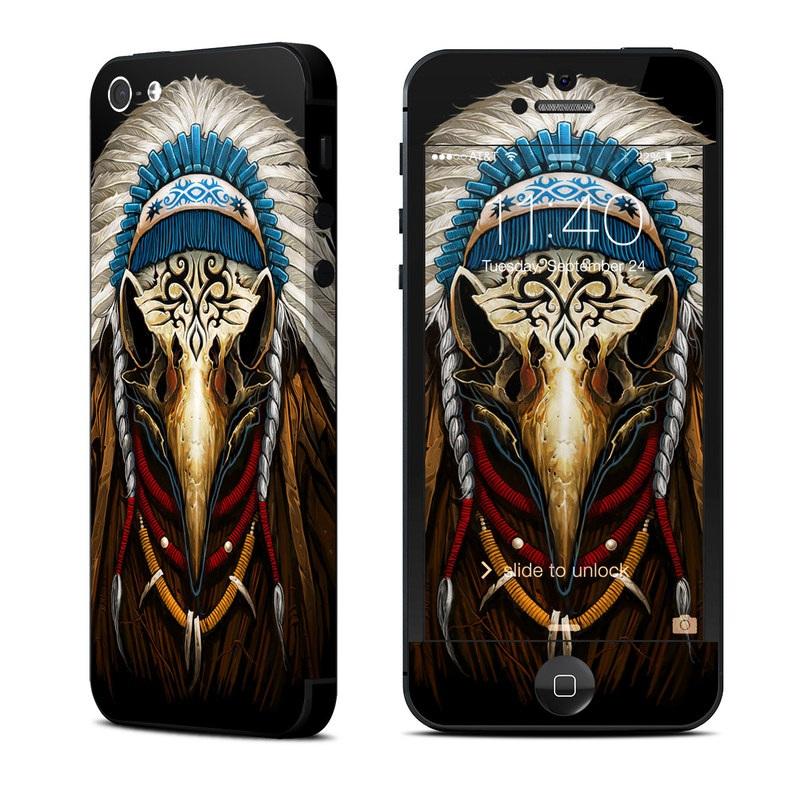 Eagle Skull By Abrar Ajmal: Apple IPhone 5 Skin - Eagle Skull By Abrar Ajmal