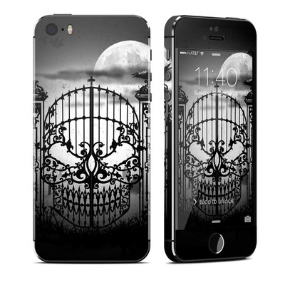 Apple iPhone 5S Skin - Abandon Hope
