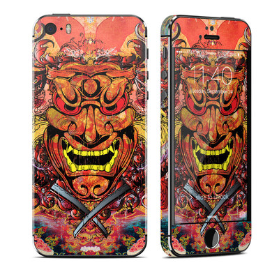 Apple iPhone 5S Skin - Asian Crest
