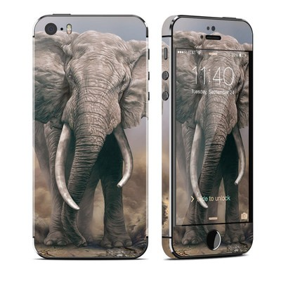 Apple iPhone 5S Skin - African Elephant
