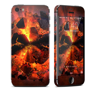 Apple iPhone 5S Skin - Aftermath