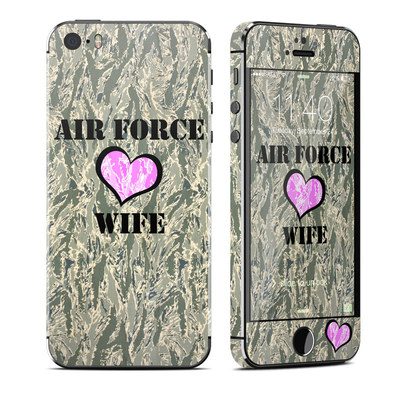 Apple iPhone 5S Skin - Air Force Wife