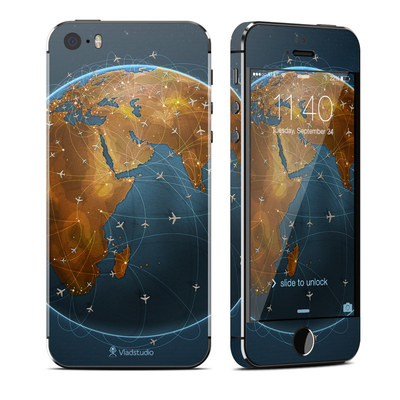 Apple iPhone 5S Skin - Airlines