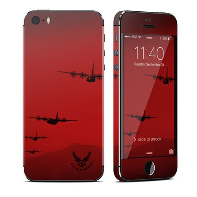 Apple iPhone 5S Skin - Air Traffic
