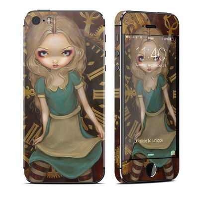 Apple iPhone 5S Skin - Alice Clockwork