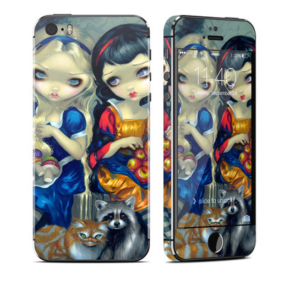Apple iPhone 5S Skin - Alice & Snow White