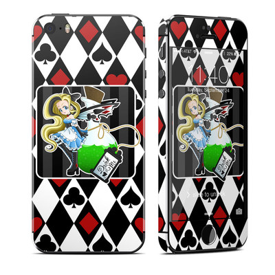Apple iPhone 5S Skin - Alice