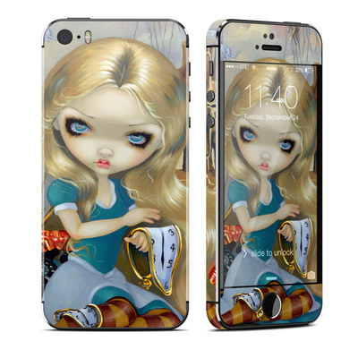 Apple iPhone 5S Skin - Alice in a Dali Dream