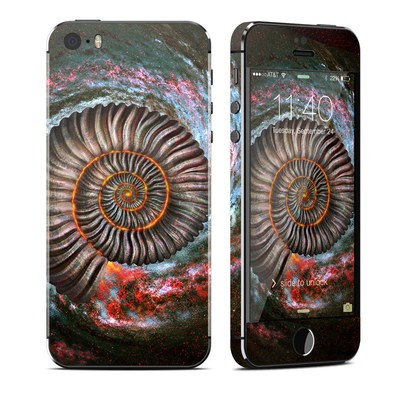 Apple iPhone 5S Skin - Ammonite Galaxy