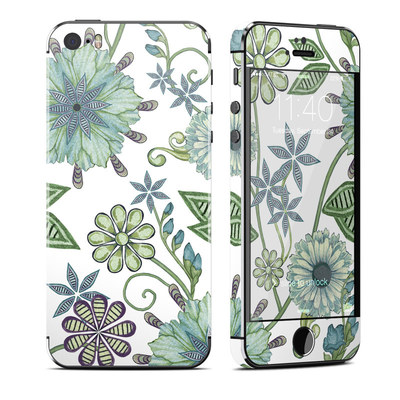 Apple iPhone 5S Skin - Antique Nouveau
