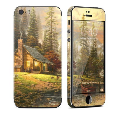 Apple iPhone 5S Skin - A Peaceful Retreat