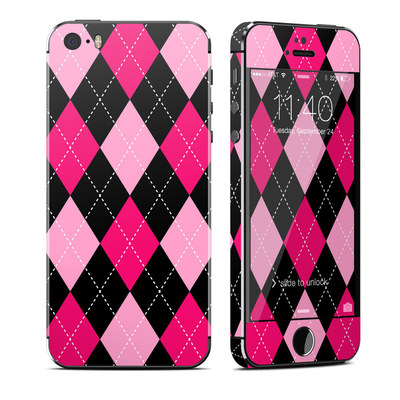 Apple iPhone 5S Skin - Argyle Style