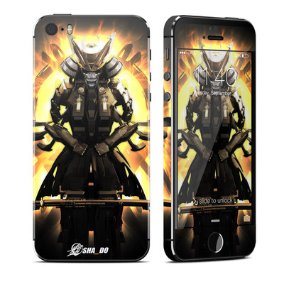 Apple iPhone 5S Skin - Armor 01