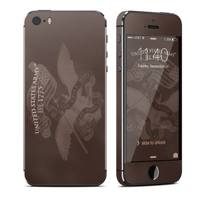 Apple iPhone 5S Skin - Army Preserved