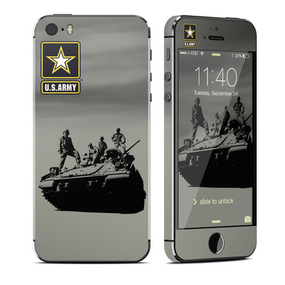 Apple iPhone 5S Skin - Army Troop