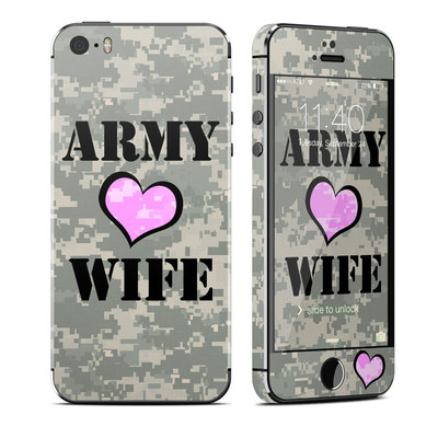 Apple iPhone 5S Skin - Army Wife
