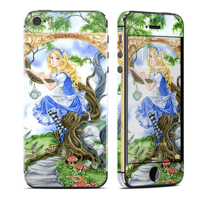 Apple iPhone 5S Skin - Alice's Tea Time