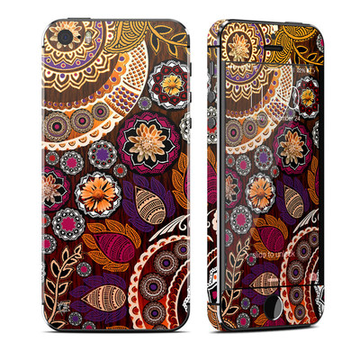 Apple iPhone 5S Skin - Autumn Mehndi