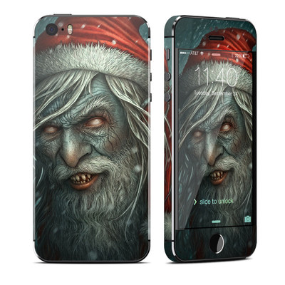 Apple iPhone 5S Skin - Bad Santa