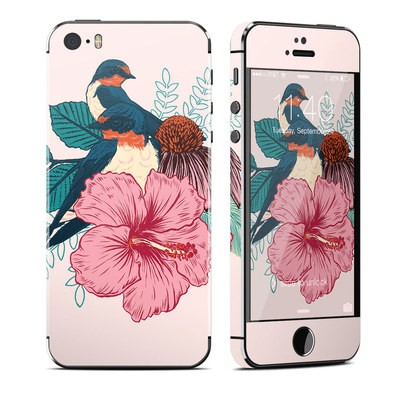 Apple iPhone 5S Skin - Barn Swallows