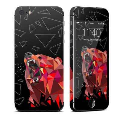 Apple iPhone 5S Skin - Bears Hate Math