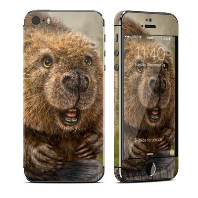 Apple iPhone 5S Skin - Beaver Totem