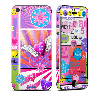 Apple iPhone 5S Skin - BFF Girl Talk