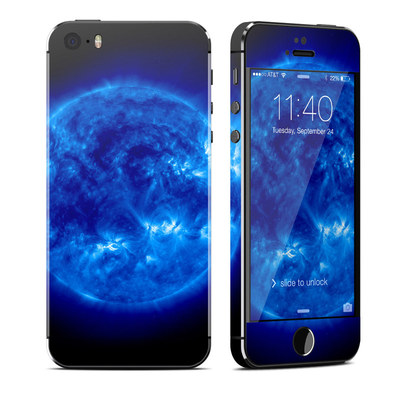 Apple iPhone 5S Skin - Blue Giant