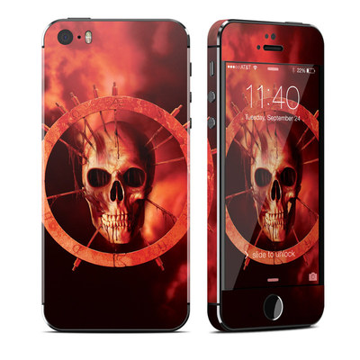 Apple iPhone 5S Skin - Blood Ring