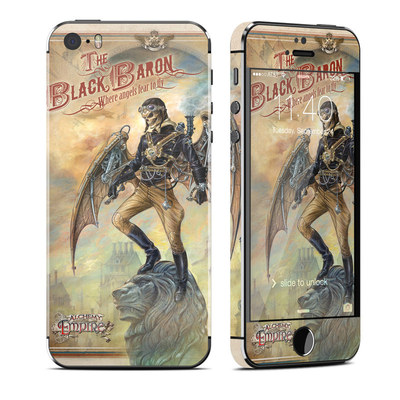 Apple iPhone 5S Skin - The Black Baron