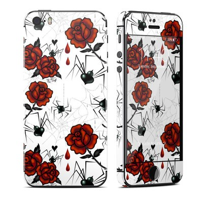 Apple iPhone 5S Skin - Black Widows