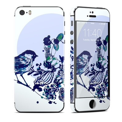 Apple iPhone 5S Skin - Bluebird