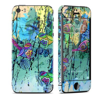 Apple iPhone 5S Skin - Blue Evening