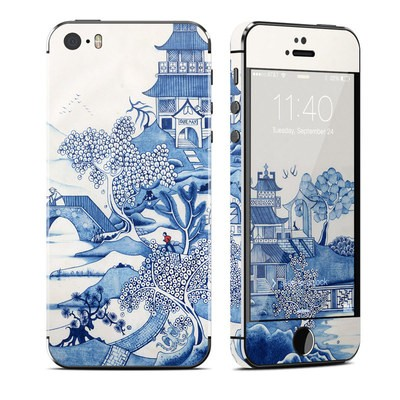 Apple iPhone 5S Skin - Blue Willow