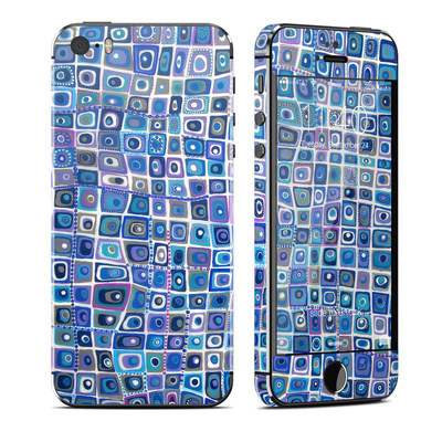 Apple iPhone 5S Skin - Blue Monday