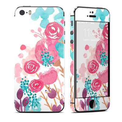 Apple iPhone 5S Skin - Blush Blossoms