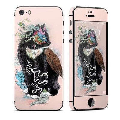 Apple iPhone 5S Skin - Black Magic